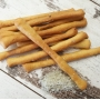 Bread sticks with coarse Guérande sea salt